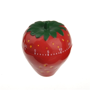 0 Minutes Strawberry Design Timer - Red Timer Series