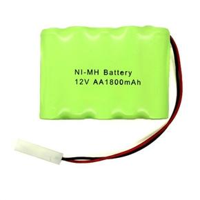AA Ni-MH 12V 1800mAh RC Battery Pack (Green)