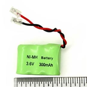 AA Ni-MH 3.6V 300mAh RC Battery Pack (Green)