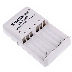 SANGER SG-68002 Omnipotent Standard Charger for AA AAA Replacement Battery