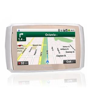 3000 5-inch Resistive Touchscreen Windows CE 6.0 4GB Portable Car GPS Navigator with Media Player /TF Card Slot (Black)