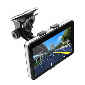 915 5-inch Resistive Touchscreen Windows CE 6.0 Car GPS Navigator with Media Player/AV-In/Bluetooth/4GB TF Card (Black)