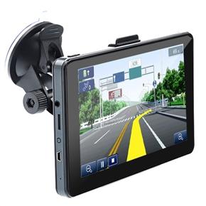 516 5-inch Resistive Screen Windows CE 6.0 Car GPS Navigator with Media Player /AV-in /Bluetooth /4GB TF Card (Grey)