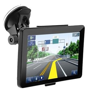 706 7-inch Resistive Screen Windows CE 6.0 4GB Car GPS Navigator with Multimedia Player /FM Radio /TF Slot (Black)