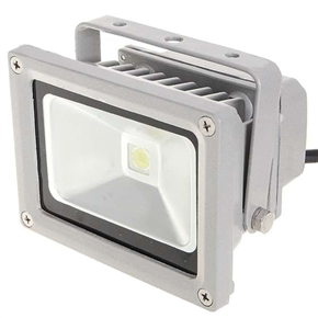 10W 7000K 100-265V Super Bright Floodlight Projection Lamp (Silver Grey)