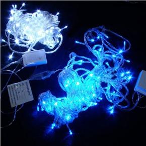10M 220V 100-LED Energy-saving Bright LED String Light for Christmas/ Party/ Garden (White Light)