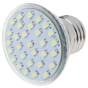110V E27 1.5W 30-LED 150-Lumen 8000K Light Bulb (White)