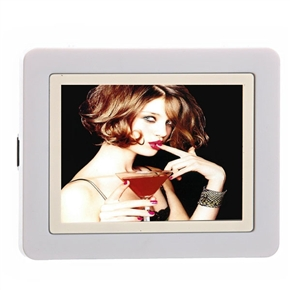 2.4 Inch TFT LCD Screen Digital Album Photo Frame with Calender and Clock