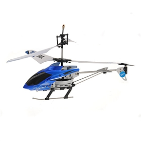 3-Channel R/C Helicopter Wireless Remote Control Cool Toy Plane (Blue)