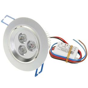 3W 100V-240V AC 180 Lumen LED Light Bulb with Constant Current Driver