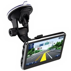 4.3-inch TFT-LCD Touch Screen Windows CE 6.0 Car GPS Navigator with 4GB TF Card /Multimedia Player /AV-in /Bluetooth