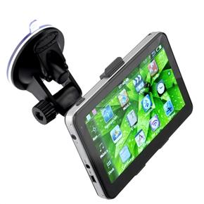 5-inch TFT-LCD Touch Screen Windows CE 6.0 4GB Car GPS Navigator with Multimedia Player /FM Radio /TF Slot (Black)