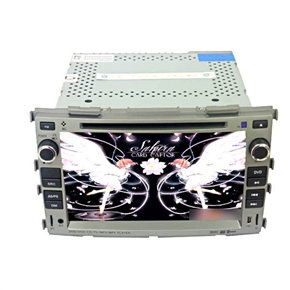 """7"""" HD Digital Touch Screen 2 Din Special Car DVD Player for KIA FORTE"""