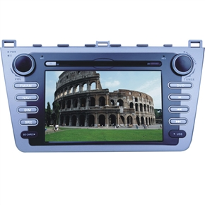 """7"""" HD Digital Touch Screen 2 Din Special Car DVD Player with GPS DVB-T for Mazda-RUIYI"""
