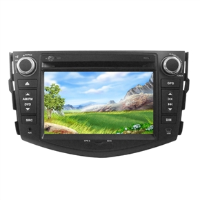 """7"""" HD Digital Touch Screen 2 Din Special Car DVD Player with GPS DVB-T for TOYOTA-RAV4"""