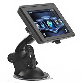 812 4.3-inch Resistive Touchscreen Windows CE 6.0 Car GPS Navigator with Media Player /AV-In /Bluetooth /4GB TF Card