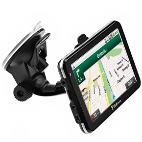911 5-inch Resistive Touchscreen Windows CE 6.0 Car GPS Navigator with Multimedia Player /AV-In /Bluetooth /4GB TF Card