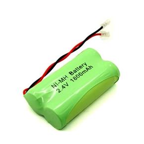 AA Ni-MH 2.4V 1800mAh RC Battery Pack (Green)