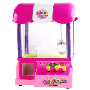 Carnival Style Arcade Claw Candy Grabber - Gripping A Prize Machine Electronic Musical Toy - Arch Roof HHE-41632