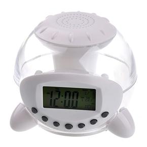 Color Changing Light Alarm Nature Sound Clock Calendar