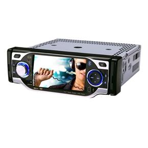 "DT-4001 4"" 1 Din Silver In-Dash Good Car DVD Player"