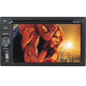 """DT-6201 6.2"""" 2 Din High Quality In-Dash Car DVD Player"""