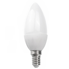 E14 2W 108-Lumen AC220-240V Pure White Light Non-transparent LED Ceramic Bulb LED Light Lamp