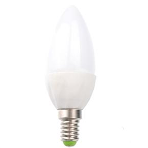 E14 2W 108-Lumen AC220-240V Warm White Light Non-transparent LED Ceramic Bulb LED Light Lamp