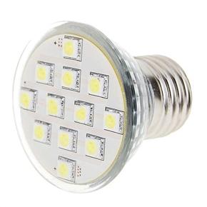 E27 110V 1.8W 180 Lumen 5050 Light Lamp with 12 LED Bulbs (White Light)