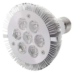 E27 7W 6000K 630 Lumen Lamp Light with 7 LED Bulbs (White Light)