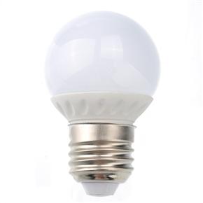 Energy-saving E27 2W AC220-240V Pure White LED Ceramic Bulb Light LED Lamp
