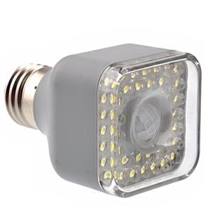 Energy-saving E27 5W AC220V Super White 39-LED Far-infrared Sensor Automatic Lamp Light
