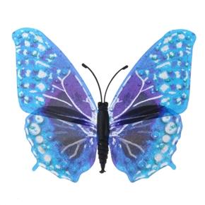 Fantastic Magnetism Butterfly Decoration Fluorescent Ornamental Butterfly - 10 pcs/set