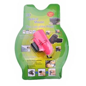 Finger Mouse 1200 DPI USB 3D Optical Mouse by Finger (Red)