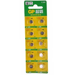 GP LR41 1.5V Button Battery Alkaline Battery (10 pcs/set)