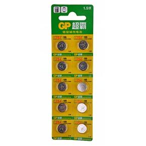 GP LR54 1.5V Button Battery Alkaline Battery (10 pcs/set)