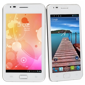 Haipai I9220 MTK6575 1GHz Android 4.0 Dual SIM 5.2-inch Capacitive Screen 3G Smartphone with WiFi GPS Camera (White)