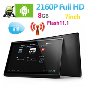Hyundai A7HD All Winner A10 1.0GHz 1G/8G Android 4.0 7-inch Capacitive Screen Tablet PC with WiFi HDMI Camera Flash 11.1