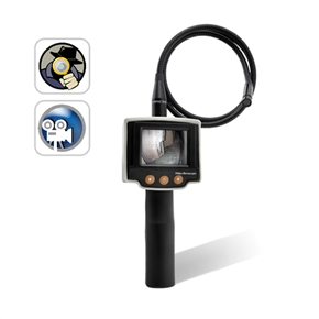 Inspection Camera with View Screen Tool Camera (Black)