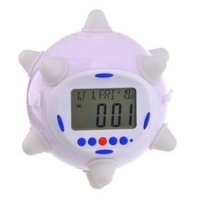 Jump Clock Color Changing Alarm Calendar Thermometer (Random Color)