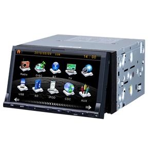 KD-7000 7 Inch 2 Din In-Dash Car DVD Player