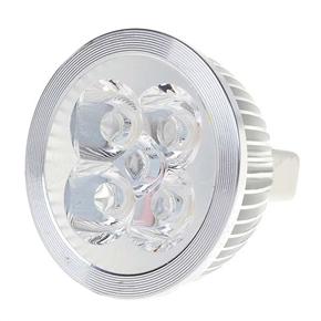 MR16 4-LED 4W 12V 360 Lumens 3500K Light Bulb with Warm White Light