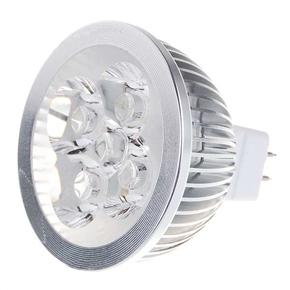 MR16 4-LED 4W 12V 360 Lumens 6500K Light Bulb with White Light