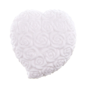 Mini Heart Shaped 7-color Changing LED Night Light with Rose Pattern