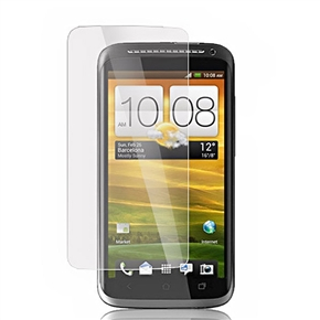 Transparent LCD Screen Protector Screen Guard Film with Cleaning Cloth for HTC One S