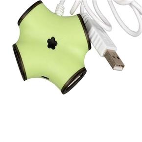 USB 2.0 High Speed 4 Ports Hub Adapter with Bone Shape