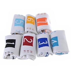 """Days of Week"" Socks Men's 7 Pairs of Fresh Sports Socks (White) - 7 pairs/set"