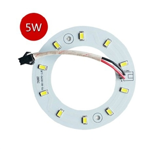 5W 220V-240V SMD 5630 10-LED Magnetic Circular LED Panel Bar Lamp LED Ceiling Light (Pure White Light)