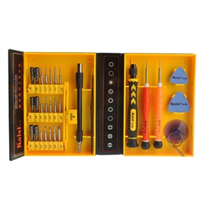 Kaisi 3001 30-in-1 Multifunctional Precise Screwdriver Repair Tools Set for Cellphone /Computer /Tablet PC