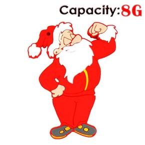 8GB Fist Santa Claus USB Flash Drives Disk (Red)